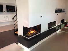 Fireplace view 1 from the showroom