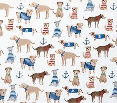 Salty Dog Kids' Sheet Set   Pottery Barn Kids