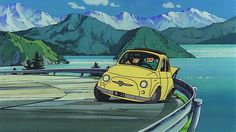 Lupin 3rd and Fiat500!
