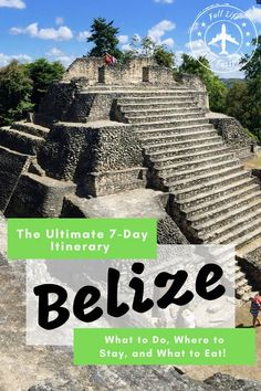 Your perfect itinerary for one week in Belize, with hotel recommendations, things to do, tours, and other great tips for an awesome family or solo vacation. Travel Pictures, Travel Photos, Travel Around The World, Around The Worlds, Places To Travel, Travel Destinations, Solo Vacation, Beaches Near Me, Travel Guides