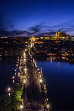 czechthecount:  Evenings in Prague.. by czechthecount: instagram | facebook | 500px | society6