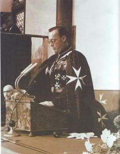 Knights of Malta Prince Bernhard of the Netherlands