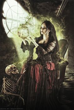 Witchcraft by RaquelKortizo.deviantart.com on @deviantART