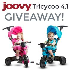 Win the Joovy Tricycoo 4.1 Giveaway - Ends 7/25 — Life of a Southern Mom