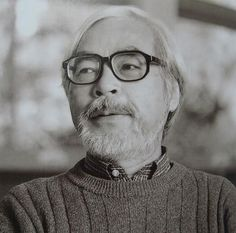 Hayao Miyazaki - i love this man - genius animator and man of true vision