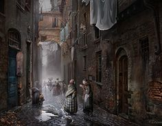 """Check out new work on my @Behance portfolio: """"Italy 19th century"""" http://be.net/gallery/46095705/Italy-19th-century"""