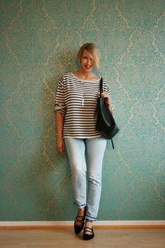 A fashion blog for women over 40 and mature women Sweater: Neyo.Fashio Denim: Review Bag: Chloé Shoes: Zara http://www.glamupyourlifestyle.com/