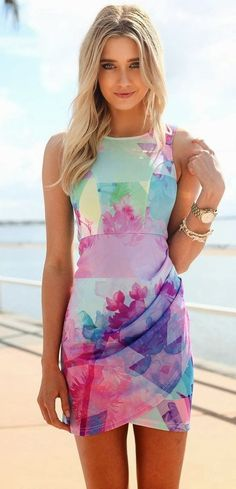 hot spring dress