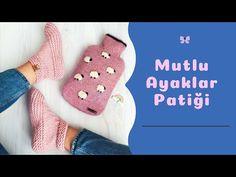 Mutlu Ayaklar Patiği - YouTube Slippers, Socks, Youtube, Fashion, Bag, Water, Sneaker, Moda, La Mode