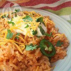 Mexicaanse tomaten rijst 35 min