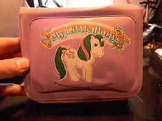 1985 Purple MLP My Little Pony RARE Pop Up Plastic Pocketbook Purse Vintage Nice   eBay