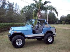 I love the jeep cj. This one looks alot like ours.