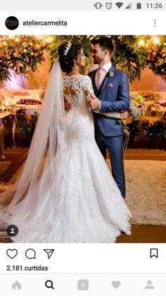 Wedding photography winter sleeve 35 Ideas for 2019 - Brautkleid - Vestidos Modest Wedding Dresses, Bridal Dresses, Wedding Gowns, Winter Wedding Dresses, Mermaid Wedding Dress With Sleeves, Backless Wedding, Wedding Hair, Lace Wedding, Trendy Wedding