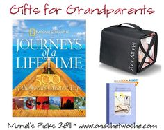 christmas gifts for grandparents mariels picks 2011