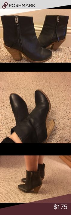 Selling this All Saints ankle booties euro 38 sz 8 on Poshmark! My username is: alexbaby16. #shopmycloset #poshmark #fashion #shopping #style #forsale #All Saints #Shoes