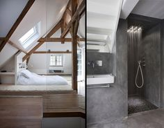 Bed Feng Shui, Decoration, Bathtub, Bathroom, Bed, Design, Style, Paris, Normandy