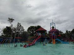Water Splash Taman Sarbini Blora
