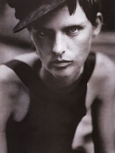 """""""From That Time"""" Stella Tennant by Paolo Roversi Vogue Italia October 2005"""