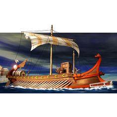 ancient roman ship