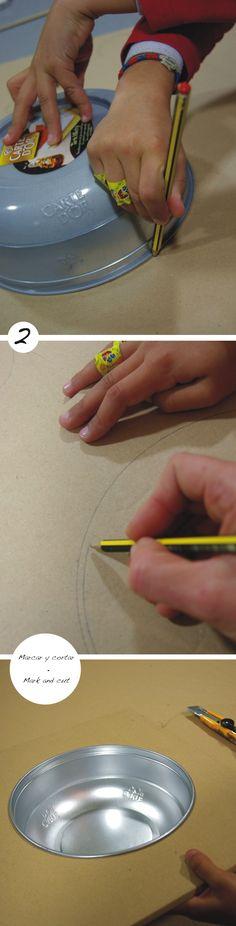 Cocinita de cartón (I) / Cardboard toy kitchen (I)   La Factoría Plástica