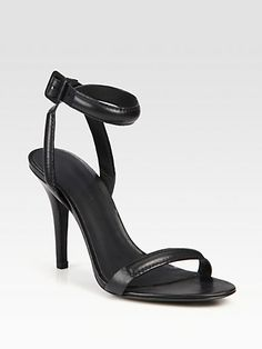 Antonia Leather Ankle Strap Sandal