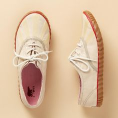 SOREL® PICNIC PLIMSOL CLASSIC CANVAS SNEAKERS--Slip into classic plimsoles with fresh new style from Sorel®. Treat your feet to canvas with laces cuties. Non-slip soles. Imported. Whole and half sizes 6 to 10, 11.View our entire Sorel Collection.