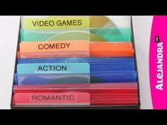[VIDEO]: DVD & CD Organization from http://www.alejandra.tv