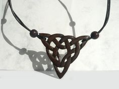 Unique Wooden Necklace Wood Art Wood Jewelry Ethnic