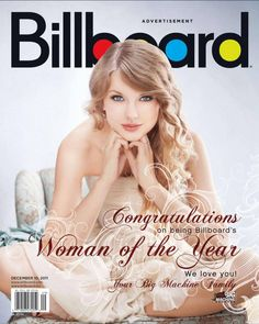 taylor swift magazine covers   Taylor Swift Covers Billboard Magazine - December 2011 in Other Pics ...