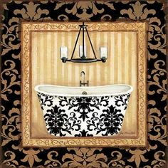 black Veranda Bath I