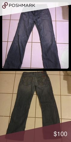 7 for all mankind Dojo style size 25 7 For All Mankind Jeans