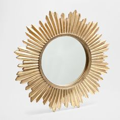 Zara Home Resin Sun Mirror Golden Mirror, Sun Mirror, Wall Mirror, Zara Home Australia, Construction Bedroom, Wood Bedroom Sets, Bedroom Furniture, Zara Home Canada, Handmade Crafts