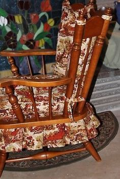 Vintage 60 S Tell City Rocking Chair Maple Colonial