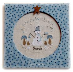 Snowly le petit bonhomme de neige