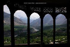 Hunza Valley from Baltit Fort – Gilgit-Baltistan, Pakistan World Most Beautiful Place, Beautiful Places To Visit, Karakorum Highway, Baltit Fort, Hunza Valley, Gilgit Baltistan, Desert Life, World View, Thing 1