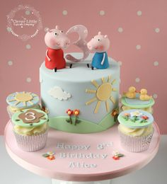 Little Peppa Pig and cupcakes: The Clever Little Cupcake Company, facebook