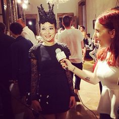 My pretty boss is today\'s philipp Plein queen @ fashion tv interview