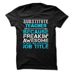 Love being -- SUBSTITUTE-TEACHER Check more at http://teacherteeshirt.com/2016/12/28/love-being-substitute-teacher-2/