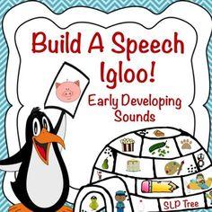 Articulation Winter Craftivity: Build A Speech Igloo! Ear