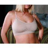Coobie Strappy V-Neck Lace Trim Bra...comfortable alternative to underwire!