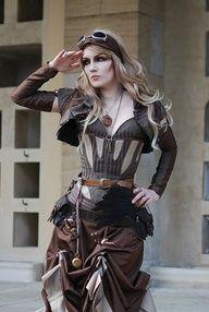 Steampunk Fashion Women : roboticdoll.devia...