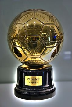 Balón de oro de Zidane