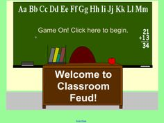 Classroom Feud - This game format can be used to review content from any subject.  Resource type: SMART Notebook lesson  Subject: ICT,  Mathematics,  English as a Second Language,  Geography,  Social Studies,  Citizenship,  Science,  Art and Design,  Health and Physical Education,  History,  Modern Foreign Languages,  Music,  English Language Arts  Grade: Kindergarten,  Grade 1,  Grade 2,  Grade 3,  Grade 4,  Grade 5,  Grade 9