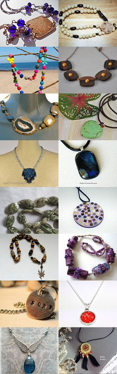 Nothing but Necklaces by Rita on Etsy--Pinned with TreasuryPin.com