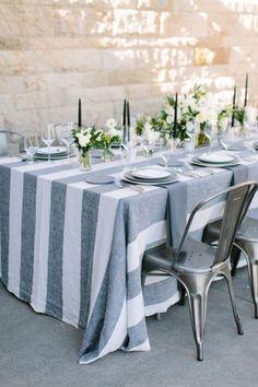 Manteles increíbles para el banquete de tu boda: ¡Sorprende a todos! Image: 19