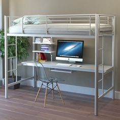 Found it at Wayfair - Leila Twin Standard Bunk Bed