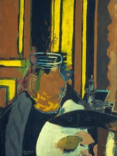 Georges Braque, Pitcher, Candlestick, and Black Fish