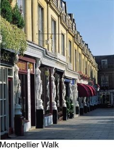 """One of the most famous streets in Cheltenham, Gloucestershire. Loved walking these streets and just """"feeling"""" the history around me."""