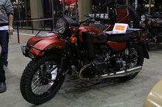 OldMotoDude: Ural sidecar rig on display at the 2020 One Motorcycle Show -- Portland, Or. Sidecar, Street Bikes, Dirt Bikes, Vintage Motorcycles, Ducati, Rigs, Portland, Display, Vehicles
