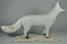 White fox ~ Candler Arts